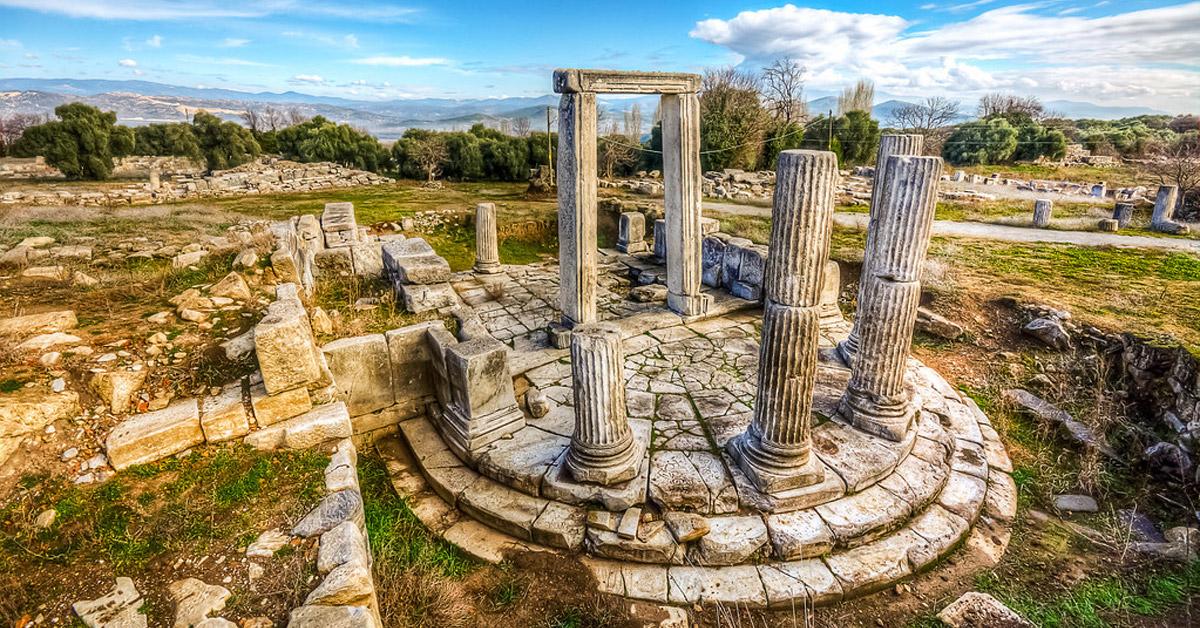 Karia'da Bir Büyük Antik Kent: Stratonikeia Antik Kenti